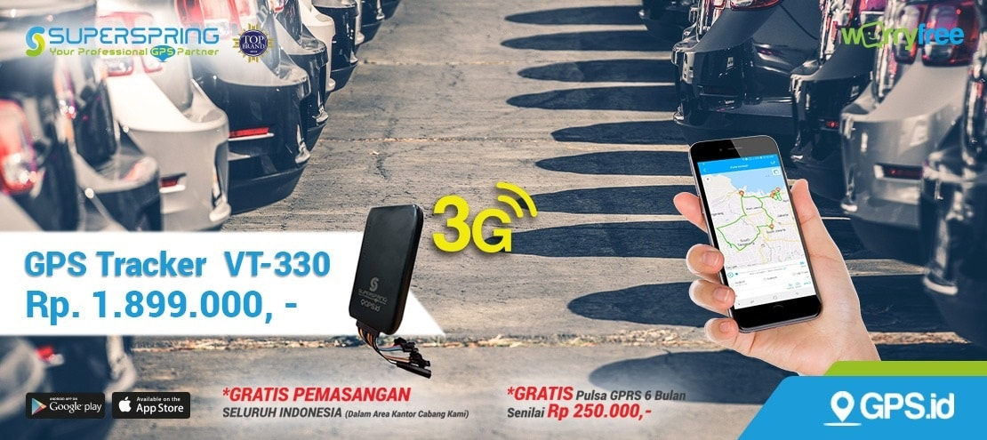 jual gps tracker superspring vt330